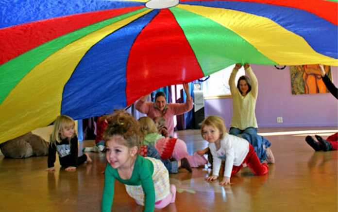 SIMPLE Physical Literacy parachute canopy is your child school ready