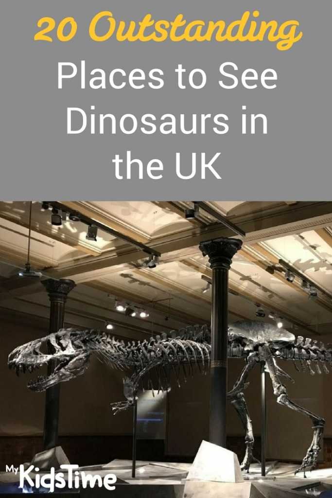 20 Outstanding Places to See Dinosaurs in the UK