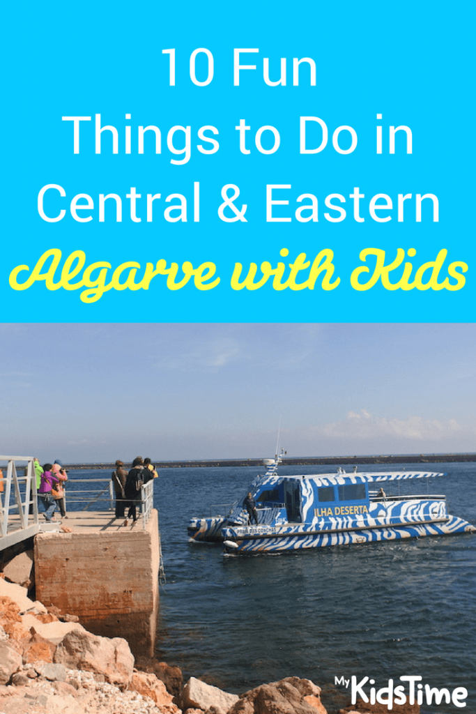 algarve with kids