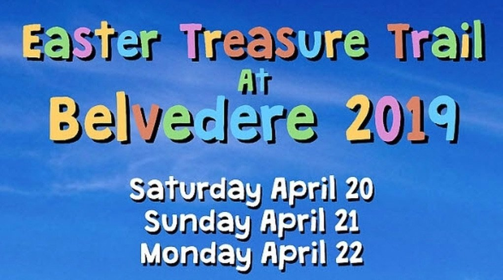 Belvedere House Easter Treasure Trail 2019