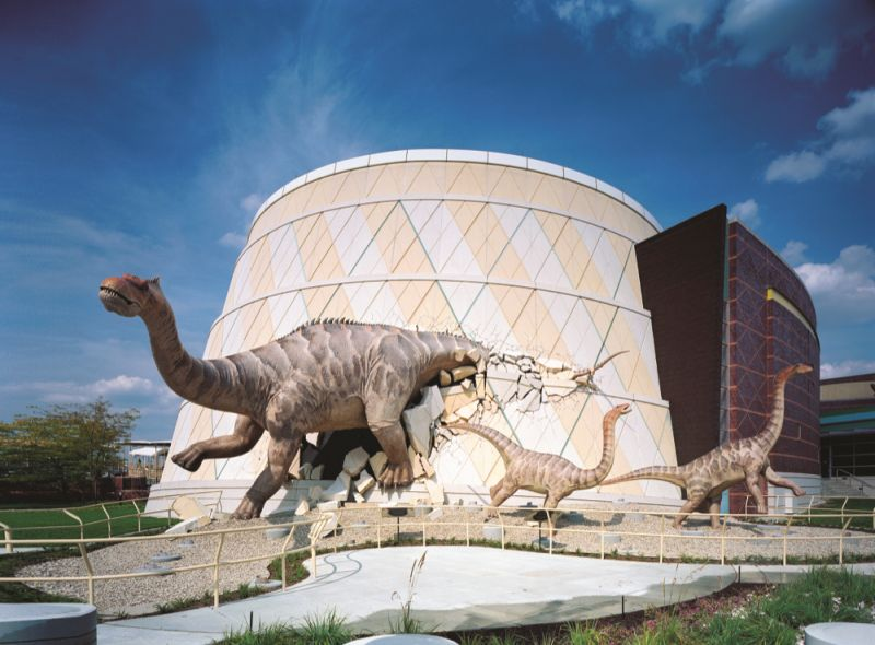 Childrens Museum of Indianapolis Dinosphere Dinos