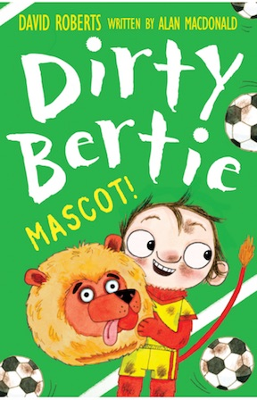 Dirty Bertie Mascot Eason Springfest Book ideas for kids and teens