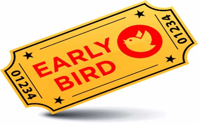 Early Bird tickets for Bunratty and King Johns