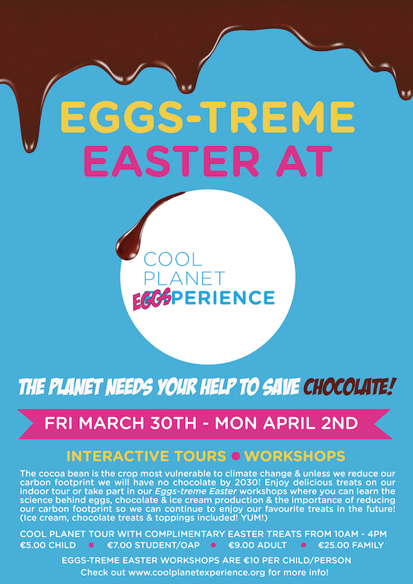 Easter events at cool planet experience