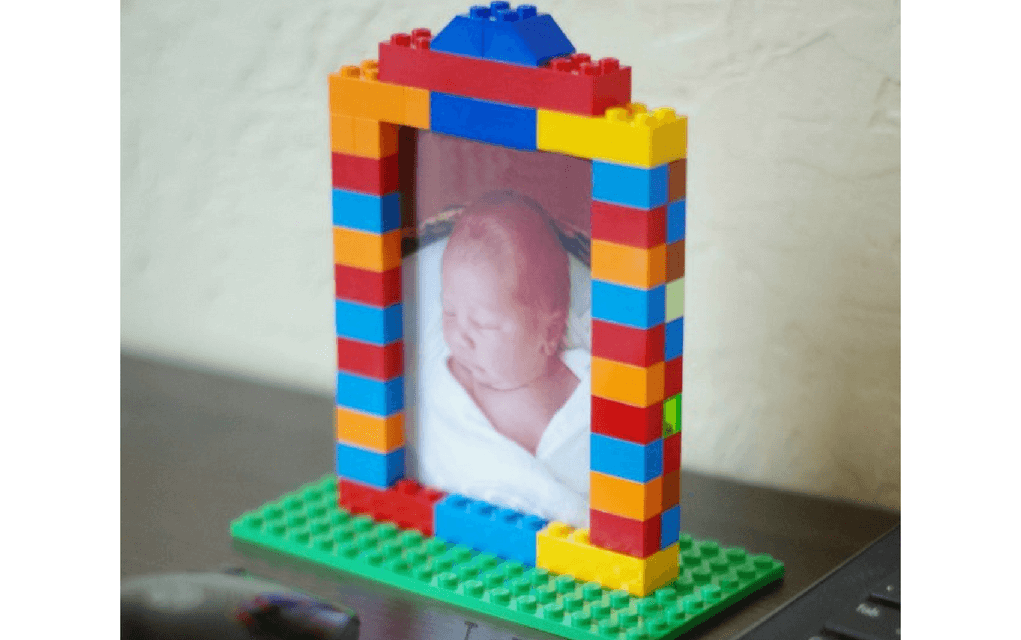 Lego instructions photo frame