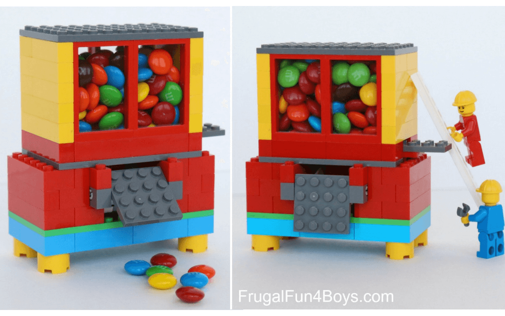 Lego instructions candy dispenser