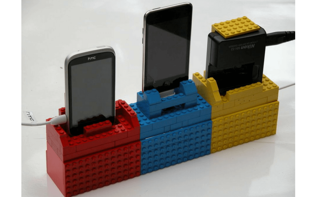 Lego instructions docking station