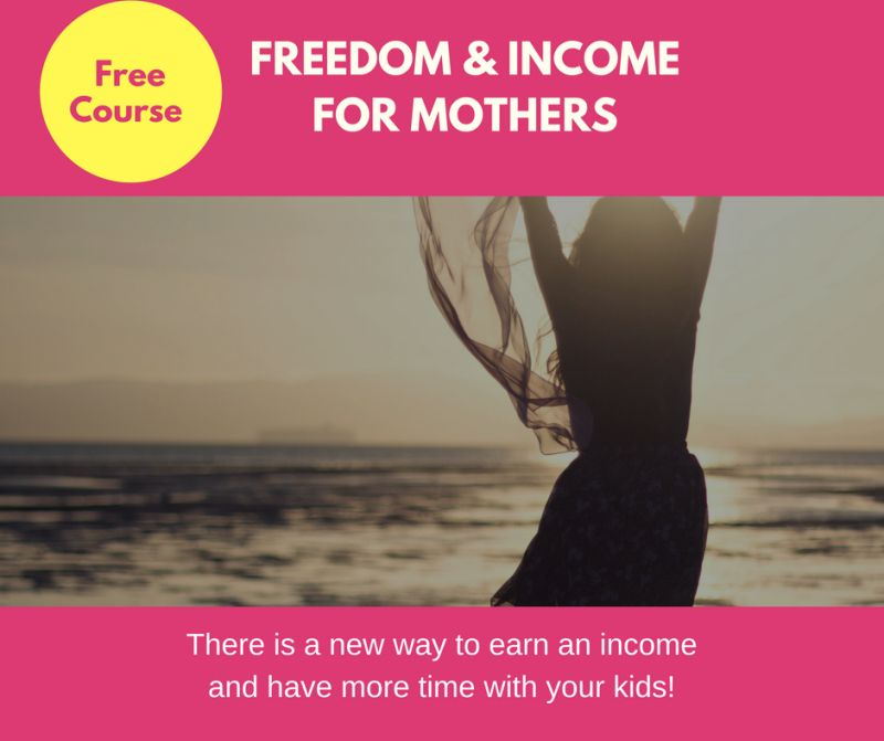 Martha Fraser Freedom and Income for Mothers Course