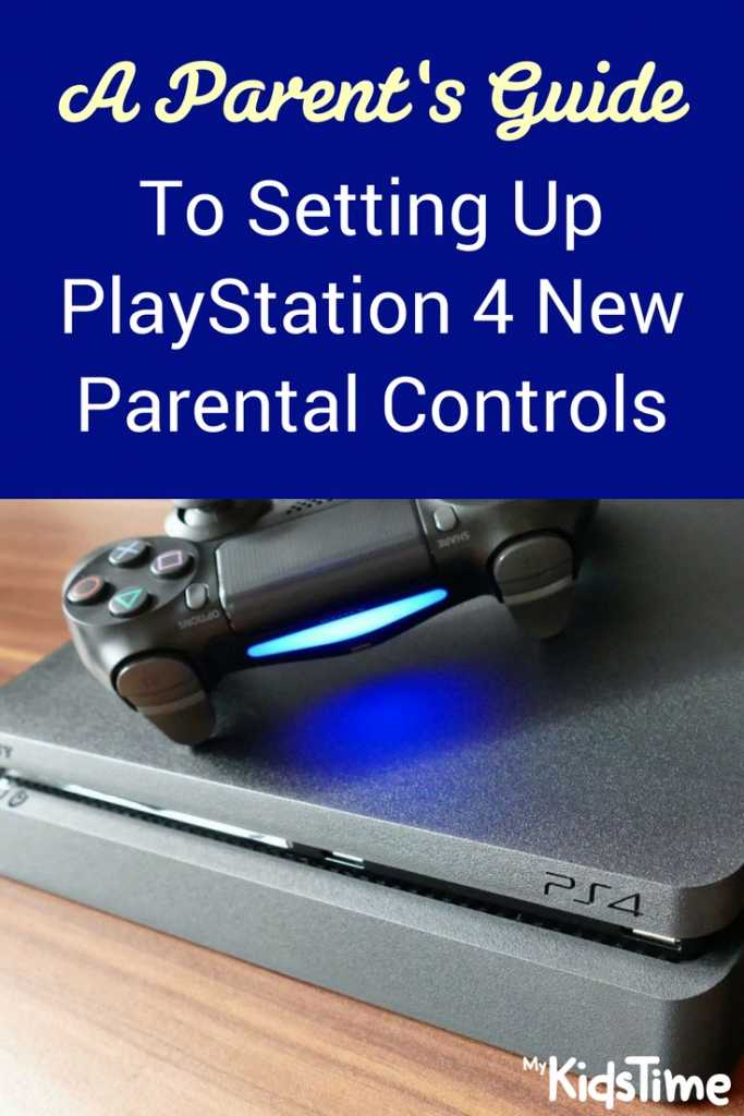 PS4 Parental Controls
