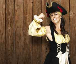 pirate costume for woman