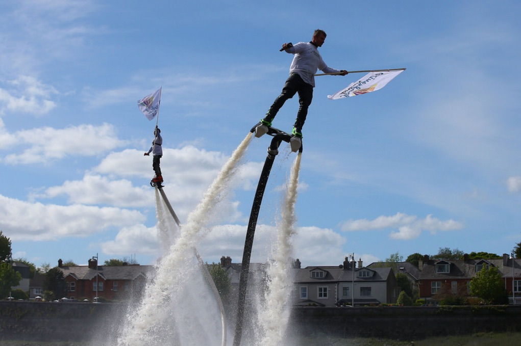 Riverfest Limerick Watersports Display