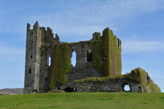ballycarbery castle castles in Ireland