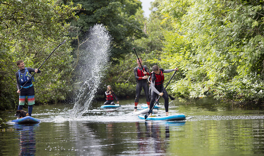 head into the blue Easter activities for families SUP