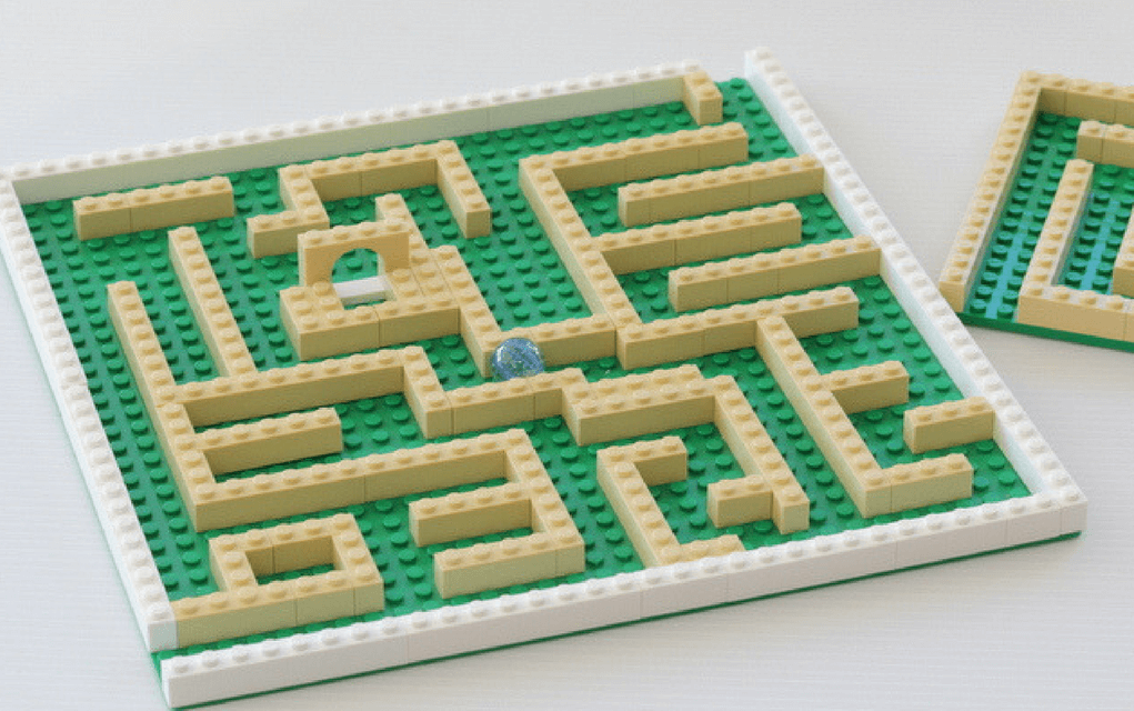 Lego instructions how to build a lego maze