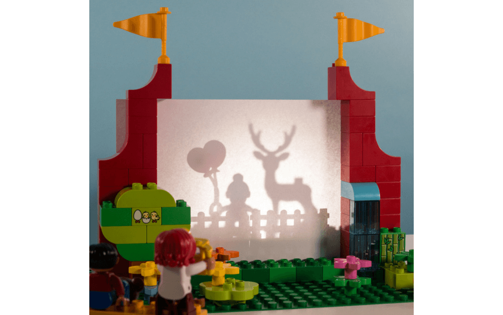 Lego instructions shadow theatre