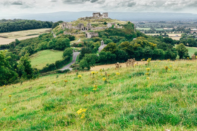 rock of dunamase castles in Ireland