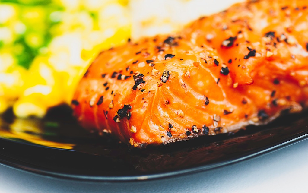 salmon with kelp butter recipes using seaweed