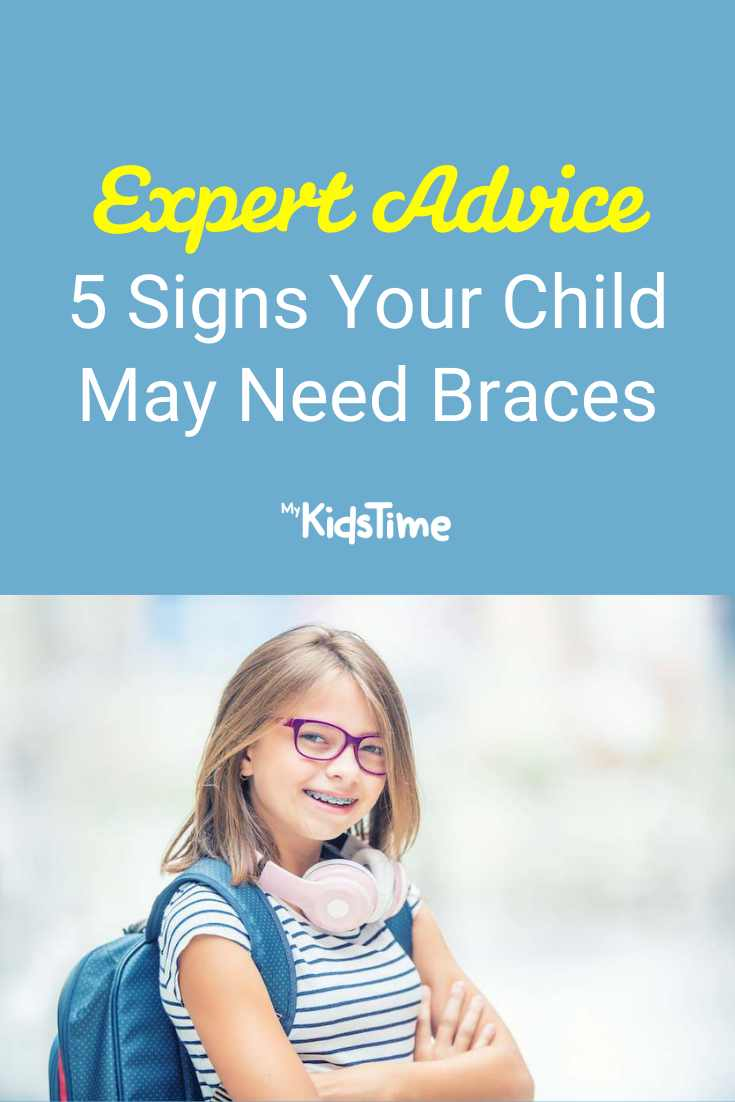 5 Signs Your Child May Need Braces - Mykidstime