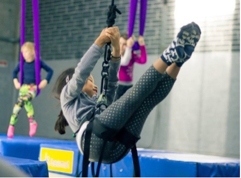 Aerial Workshops with Irish Areal Creation Centre at glor