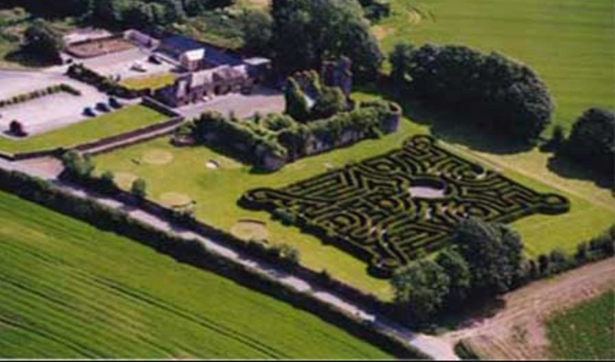 Dunbrody Abbey Maze mazes in Ireland