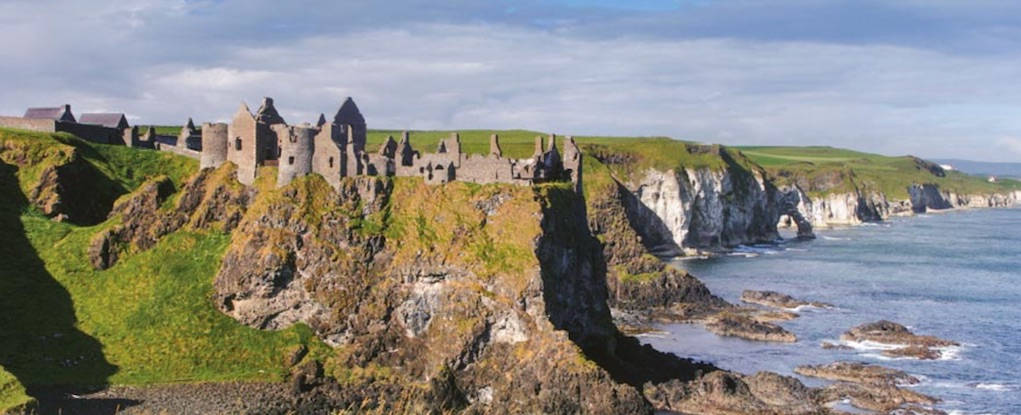 Dunluce Castle Antrim historic places in Ireland horrible histories in Ireland