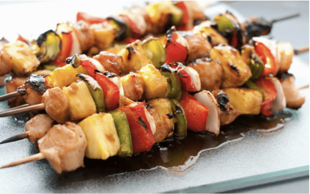 Eat More Fish Skewers quick fish recipes indoor fish BBQ