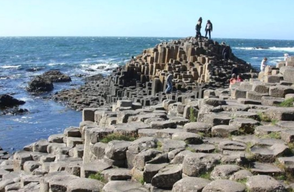 Giants Causeway Antrim Mythical places to visit in Ireland