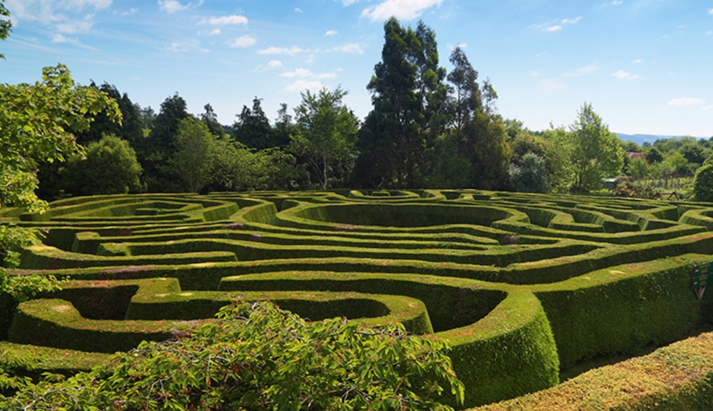 Greenham Maze Wicklow Mazes in Ireland