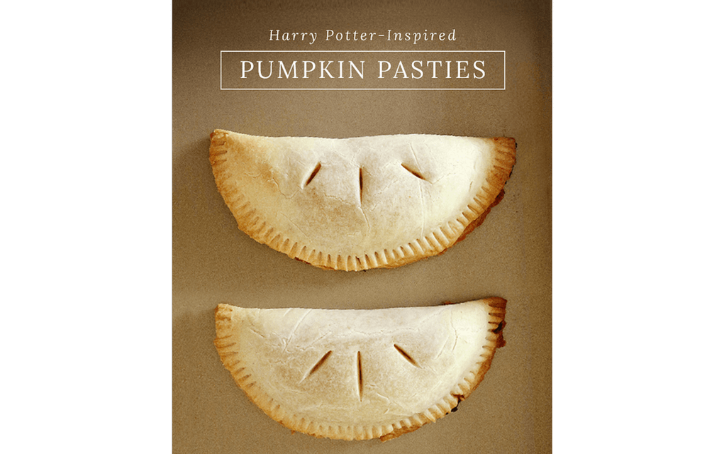 Harry Potter food Pumpkin pasties from PopSugar