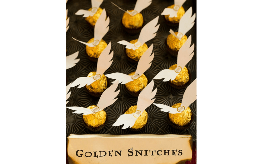 Harry Potter food golden snitches from Cooking Classy