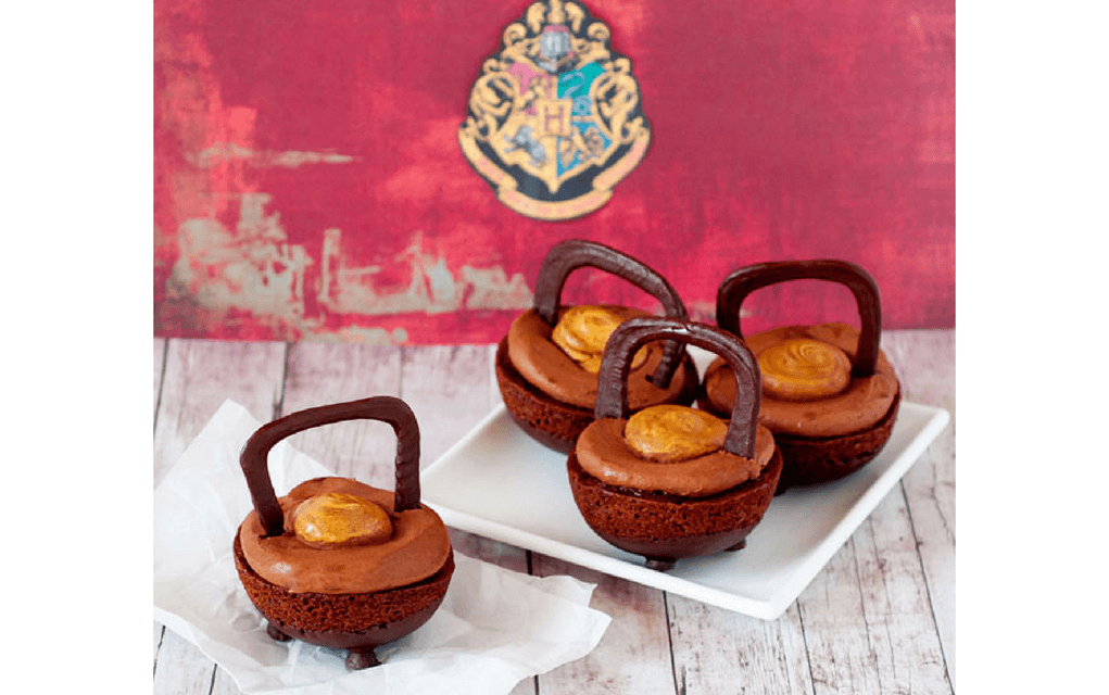 Harry Potter food cauldron cakes from Bakingdom
