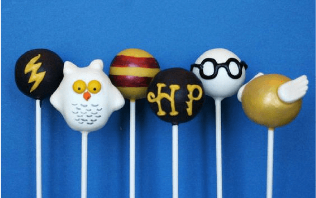 Harry Potter food cake pops selection from SweetWhimsyShop on Etsy