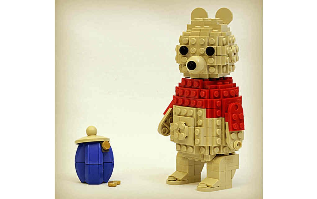 LEGO Instructions for Winnie the Pooh