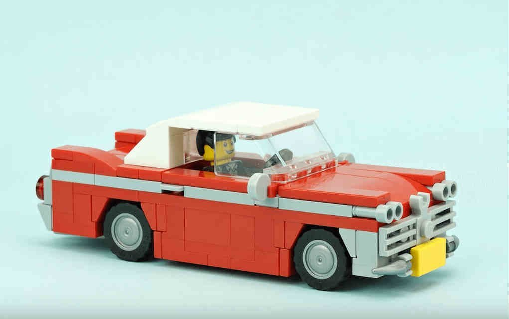 LEGO instructions for De marco vintage car