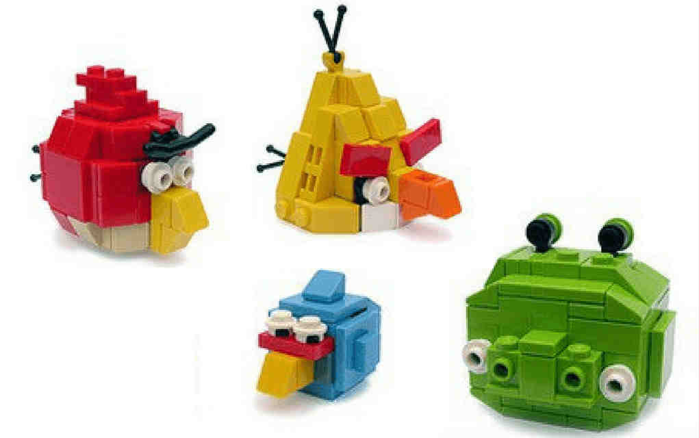 LEGO instructions for angry birds