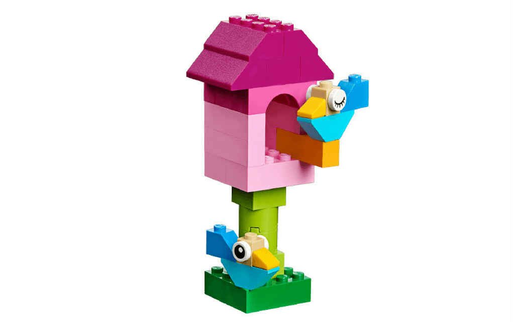 LEGO instructions for bird