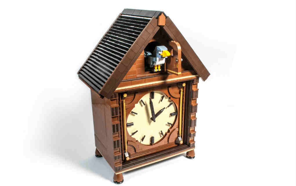 LEGO instructions for cuckoo clock