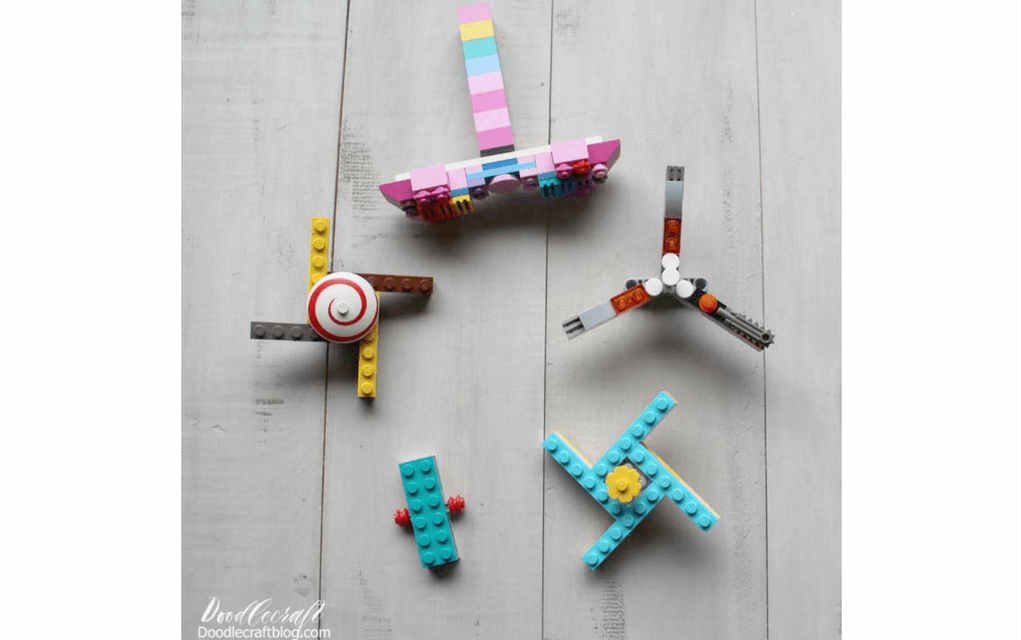 LEGO instructions for fidget spinner 2