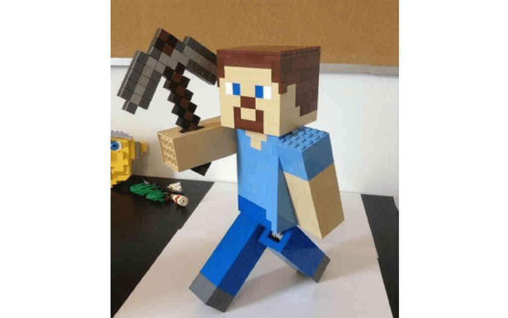 LEGO instructions for minecraft
