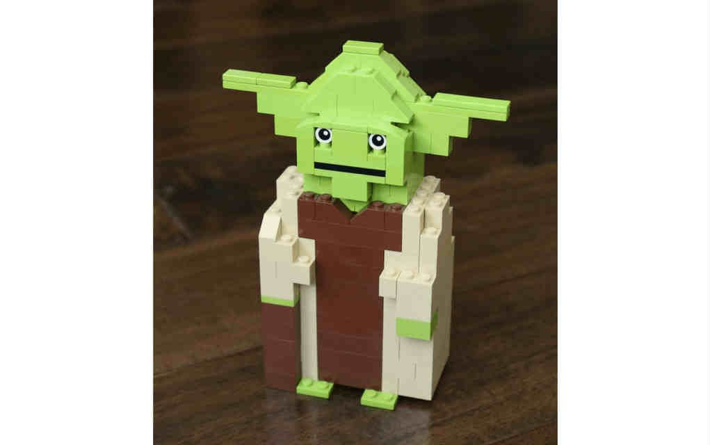 LEGO instructions for yoda
