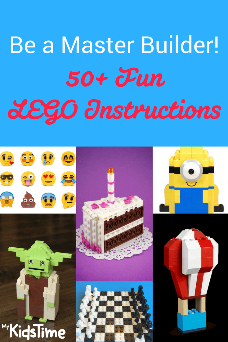 Birthday Cake Set Instructions 50 Free LEGO Learn How To Be A Master Builder