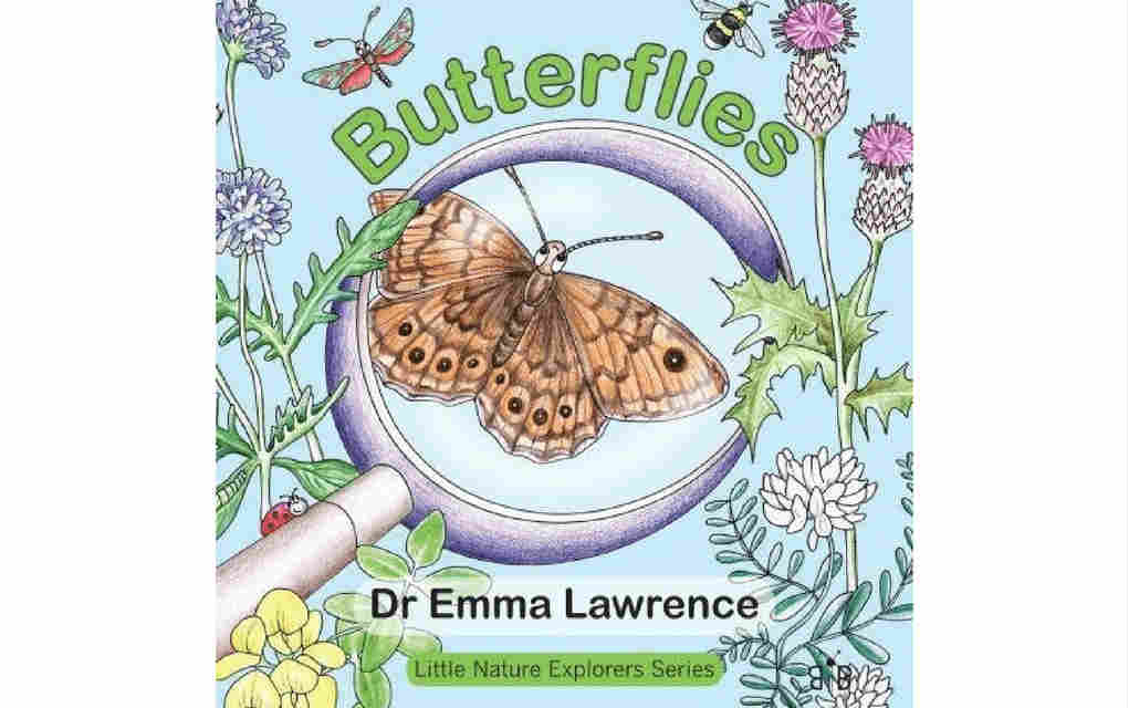 Learn about nature with butterflies book