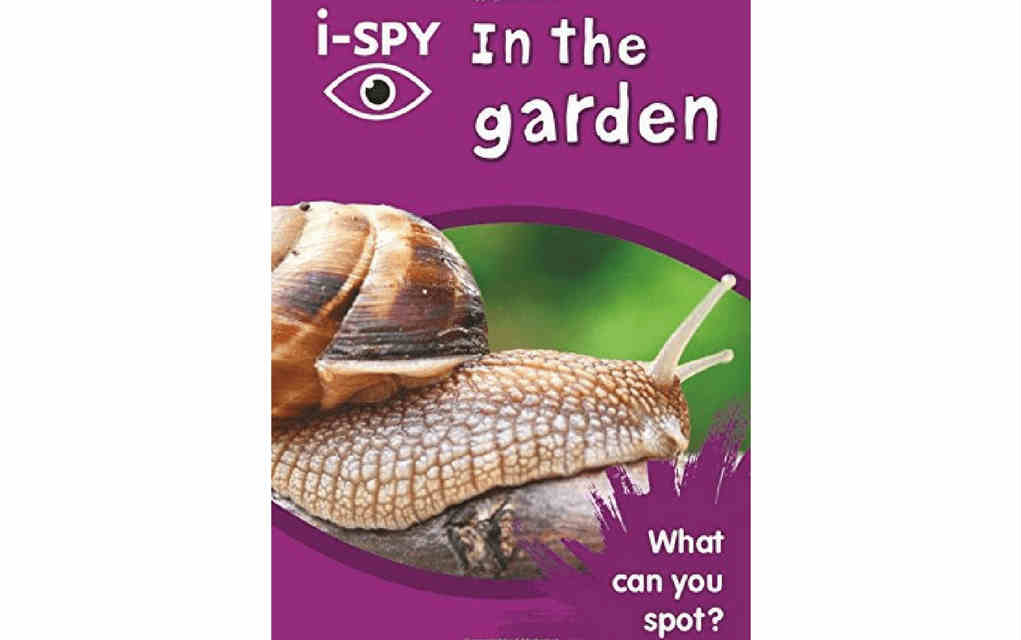 Learn about nature with i-spy in the garden book