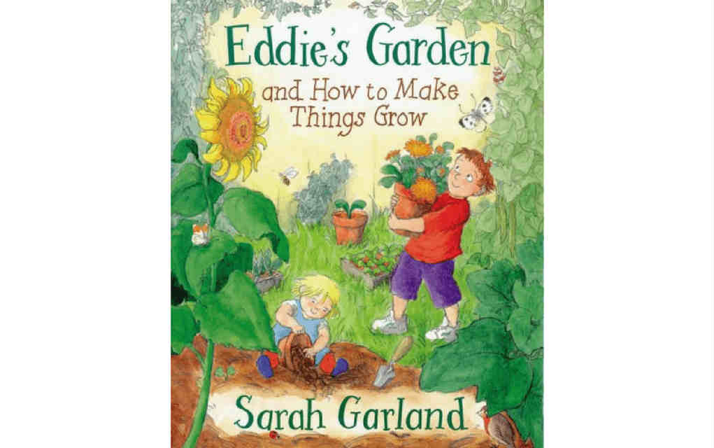 Learn about nature with Eddie's Garden book