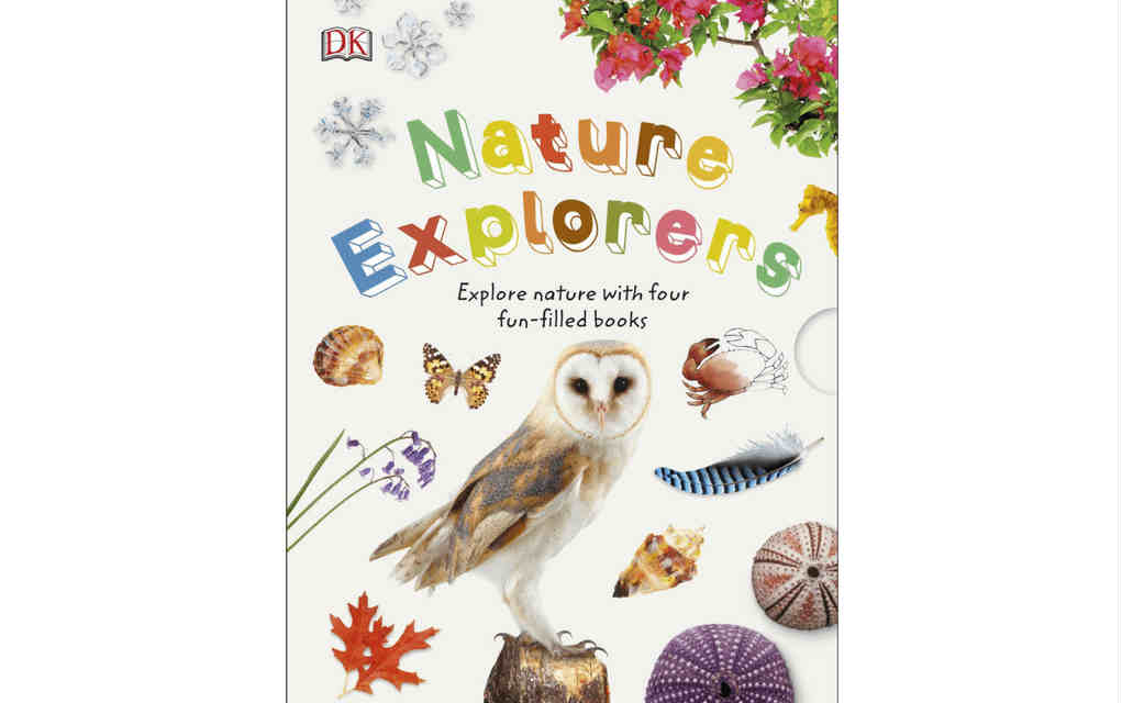 Learn about nature with Nature explorers boxset of books