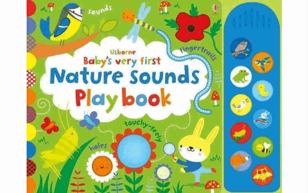 Learn about nature with Baby's Very First Nature Sounds Playbook