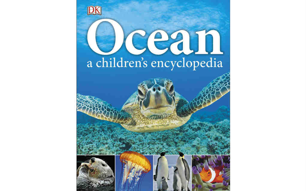 Learn about nature with Ocean children's encyclopedia book