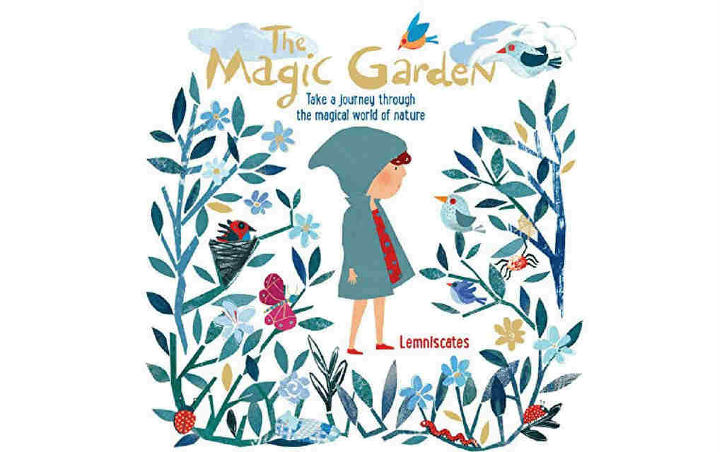 Learn about nature with the magic garden book