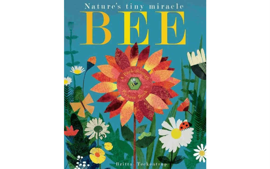 Learn about nature with Nature's Tiny Miracle the Bee book