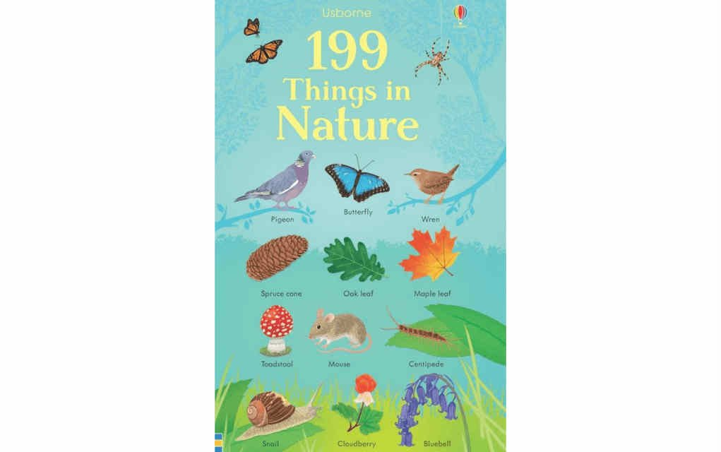 Learn about nature with 199 Things in Nature book